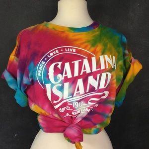 MV SPORT | Tie Dye Catalina Island T-shirt